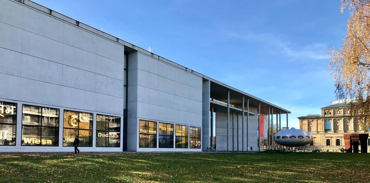 Ce musée d'art moderne à Munich a rouvert ses portes au public le 19 mai. (Photo: Page Facebook duPinakothek der Moderne)