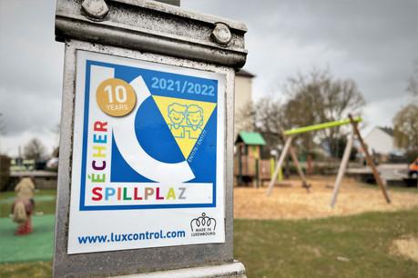 Toutes les aires de jeu de la commune de Mamer ont été inspectées par Luxcontrol, qui leur a délivré le label de qualité Sécher Spillplaz. (Photo: Commune de Mamer)