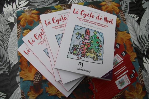 Franz Clément publie «Le Cycle de Noël» aux éditions Memory, son 9e ouvrage. (Photo: Franz Clément/éditions Memory)