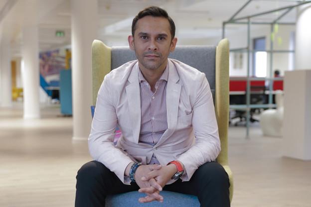 Nasir Zubairi, CEO de laLhoft. (Photo: Romain Gamba/Archives Paperjam)