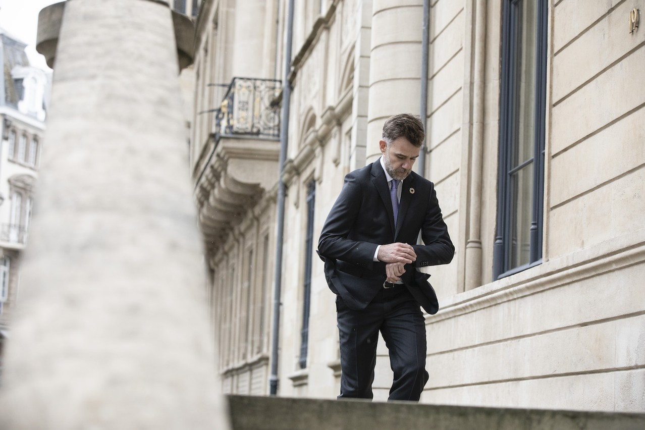 Le ministre de l'Économie le sait: le temps presse pour tenter de maintenir le plus d'entreprises et le plus d'emplois en vie. (Photo: Jan Hanrion/Maison Moderne)