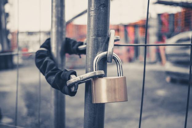 L'ITM a fermé 55 des 174chantiers qu'elle a visités pendant le congé collectif. (Photo: Shutterstock)