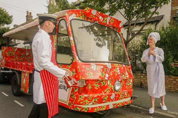 «Dis, Devos? Oui, Lemmens? Il serait pas temps de parler de nos bonnes sauces belges dans Foodzilla? Ouiiiii!» (Photo: Alamy Stock Picture)