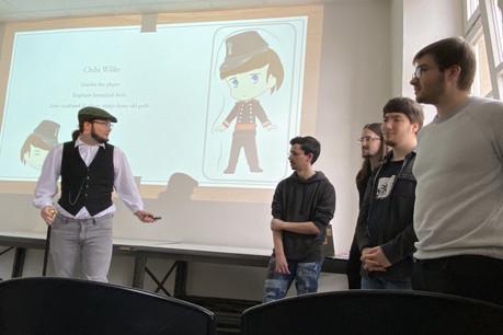 «Chibi Willie», le projet qui emmène touristes et curieux dans le Luxembourg-ville du 19 e siècle. Créé en quatre jours par cinq étudiants de cinq BTS. Un modèle du genre. (Photo: Paperjam)