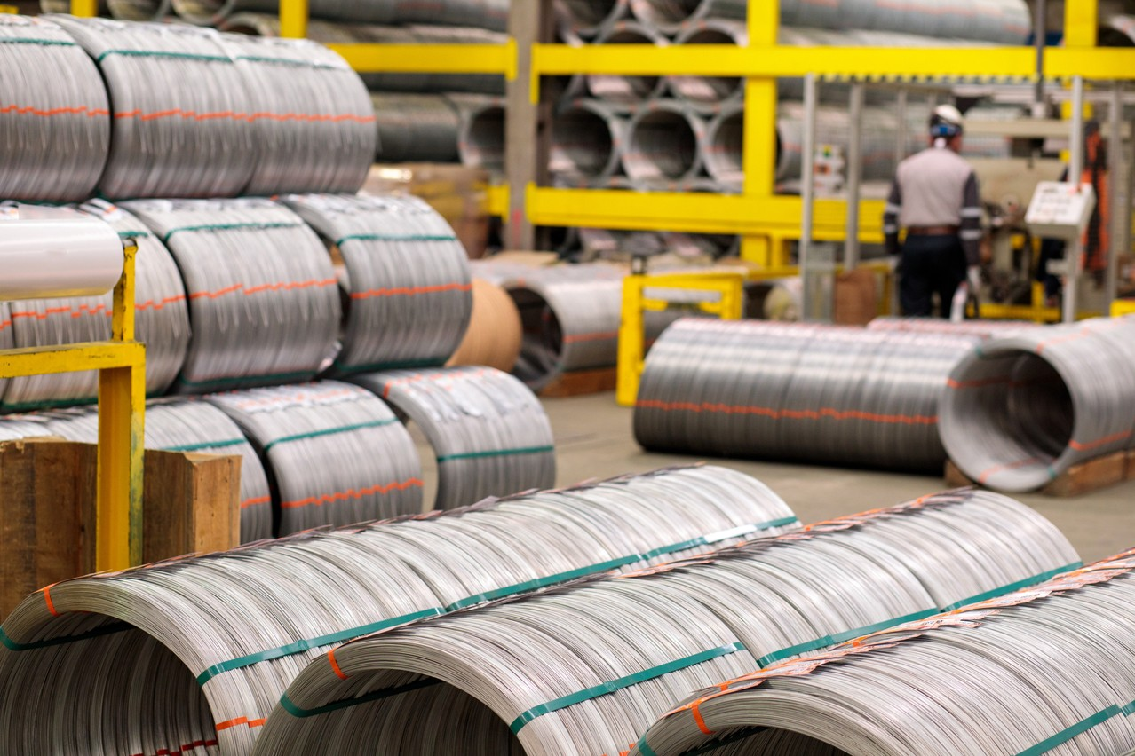 ArcelorMittal veut produire un acier vert d'ici à 2050. (Photo: Matic Zorman/Maison Moderne)