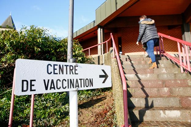 Le nouveau centre de vaccination pourra procéder jusqu'à 95.000injections par semaine. (Photo: SIP/JulienWarnand)