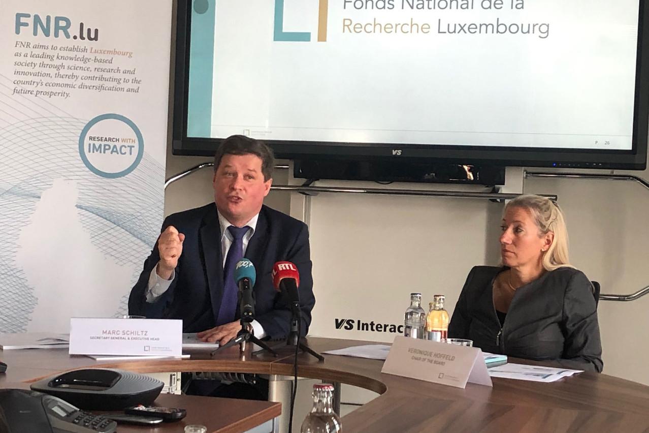 Marc Schiltz, le directeur du FNR, est heureux que le secteur de la recherche et de l'innovation soit une priorité du gouvernement. (Photo: Paperjam)