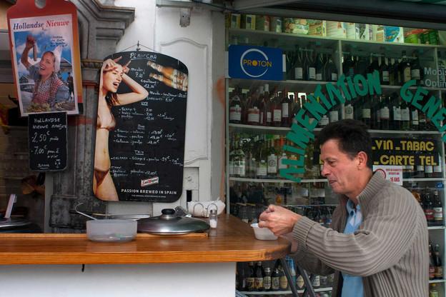 La Belgique, c'est parfois de la grande gastronomie étoilée, mais aussi et surtout de bonnes petites spécialités qu'on aimerait voir en plus grand nombre au Grand-Duché! (Photo: Sergi Reboredo  / AlamyBanque d'Images)