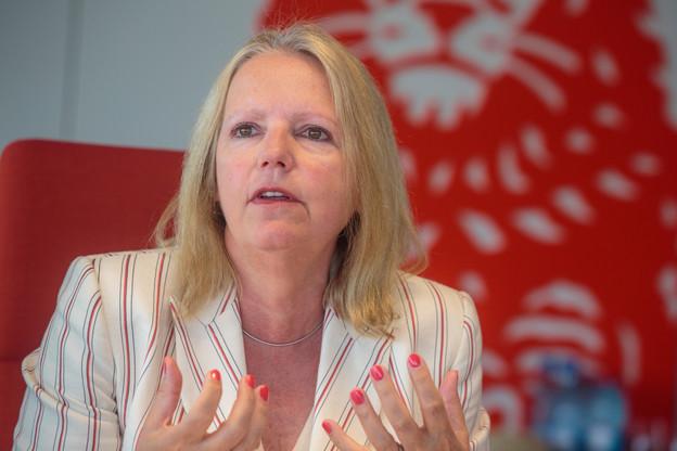 ColetteDierick, CEO d'ING Luxembourg et présidente du Retail Banking Cluster de l'ABBL, confirme que la crise sanitaire a encore accéléré les mutations vers la banque digitale. (Photo: Matic Zorman / Archives)
