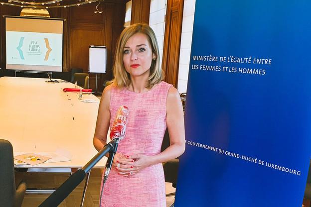 Taina Bofferding veut faire rentrer l'égalité entre les sexes dans la vie quotidienne. (Photo: Mega)