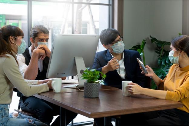 Chaque secteur d'activité doit respecter des consignes sanitaires adaptées. (Photo: Shutterstock)