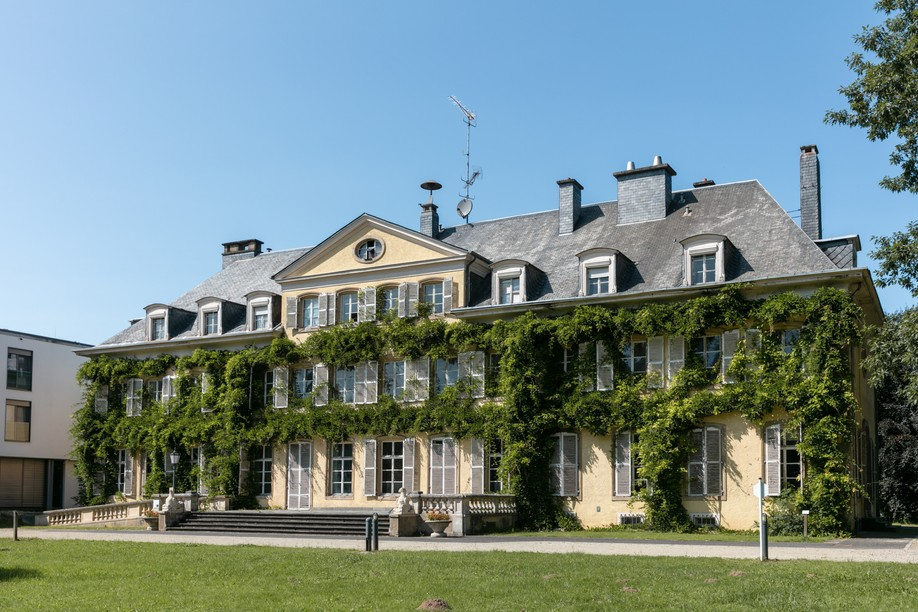 The château de Colpach in Colpach-Bas Photo: Romain Gamba / Maison Moderne