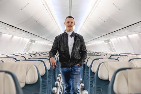Gilles Feith, CEO de Luxair. (Photo: Patricia Pitsch/Maison Moderne)