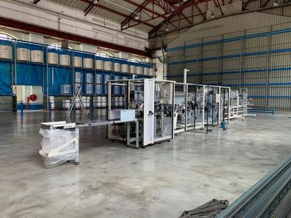 L'usine pourra accueillir d'autres machines choisies auprès d'un fabricant français. (Photo: Jean-Luc Doucet)