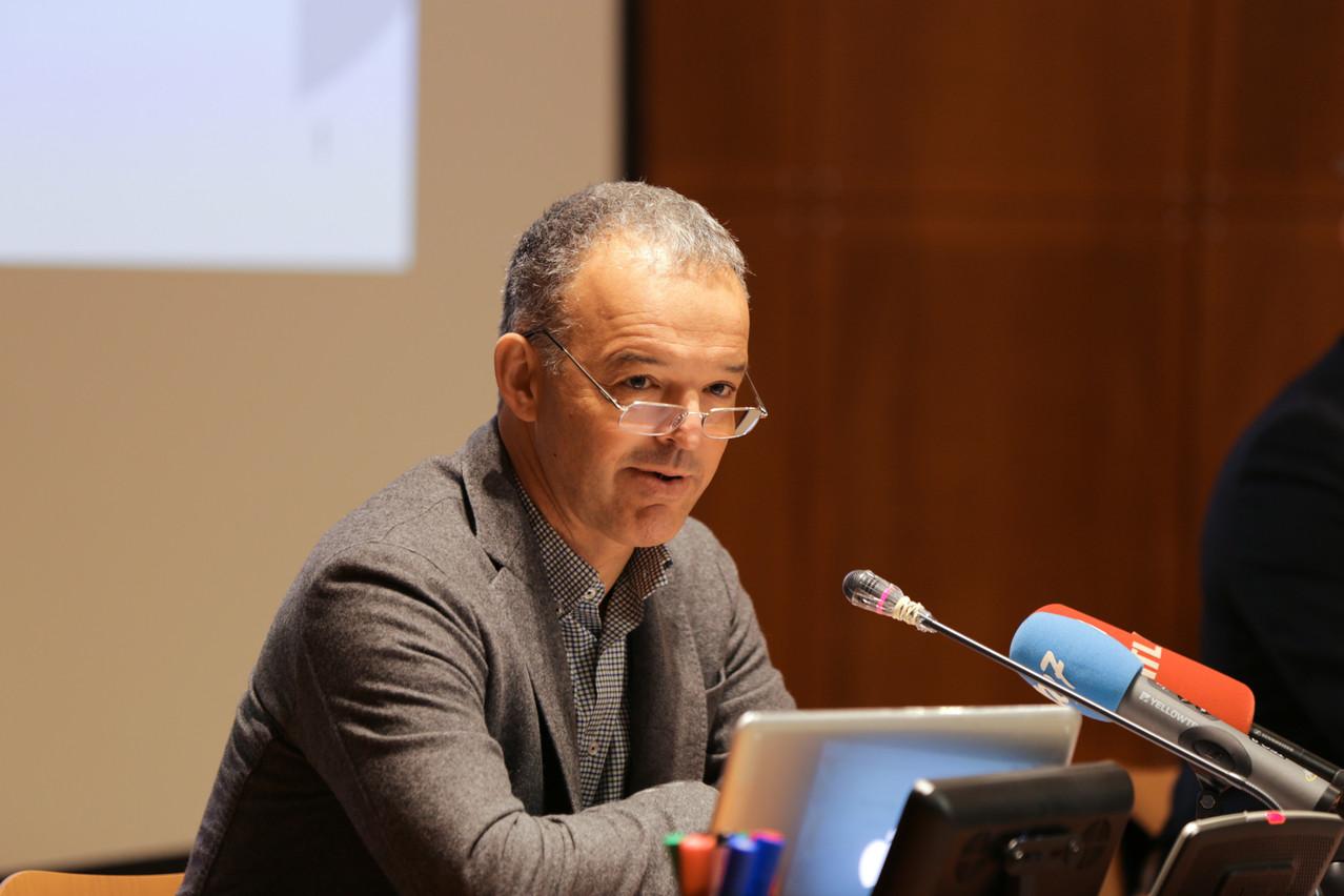 MichelReckinger quittera la présidence de la FDA, jeudi 1er juillet, pour se consacrer à l'UEL. (Photo: Romain Gamba/Maison Moderne)