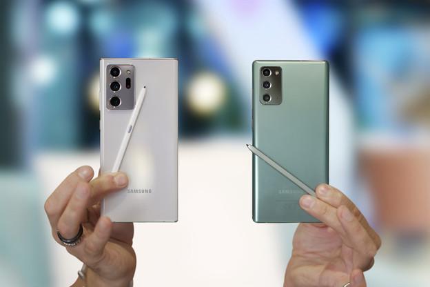 Cette semaine, Samsung, leader du marché des smartphones5G avec trois modèles dans le top5 des smartphones les plus vendus, a présenté ses deux nouveaux modèles. Décevants, disent les experts, qui attendent ceux de Apple, Google et Huawei à l'automne. (Photo: Shutterstock)