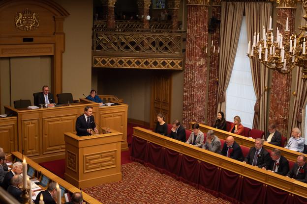 Le dernier discours sur l'état de la Nation tenu par Xavier Bettel (DP) à la Chambre des députés s'était déroulé à l'automne 2019. (Photo: Archives/Nader Ghavami)