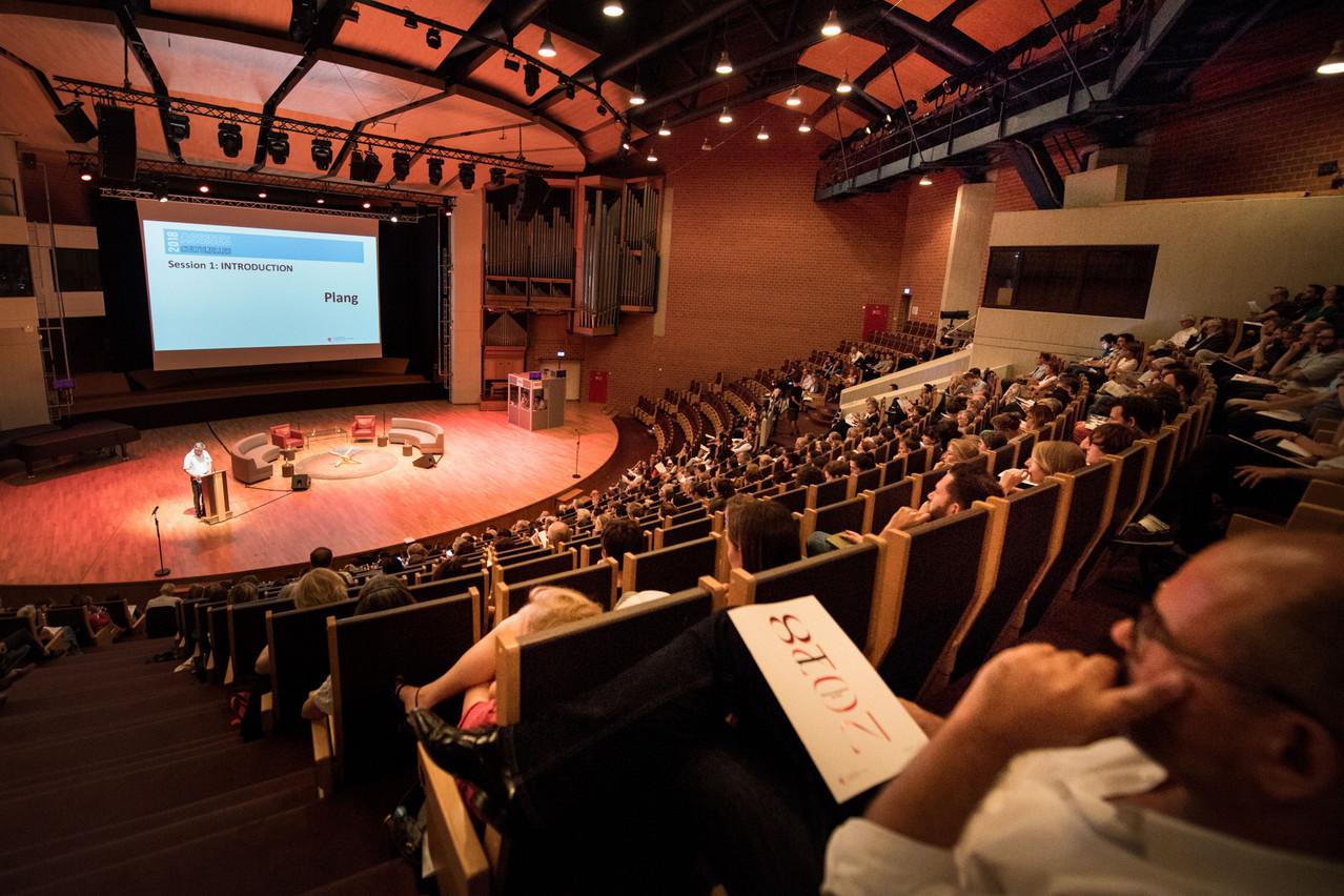 Lors des assises culturelles de 2018, JoKox avait dévoilé le plan de développement culturel2018-2028. (Photo: Nader Ghavami/archives Maison Moderne)