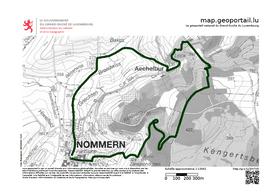 Parcours complet de la randonnée N4. ((Plan: Mullerthal.lu))