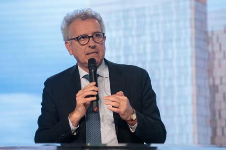 Pierre Gramegna: «En 2014, le Luxembourg a lancé le premier sakk souverain en euros dans un objectif de diversification de la Place, en s'orientant vers les besoins des pays du Golfe.» (Photo: Matic Zorman)