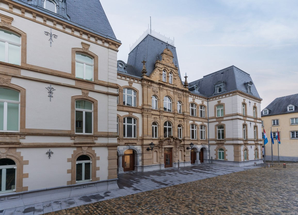 The Mansfeld building in Luxembourg City Photo: Shutterstock