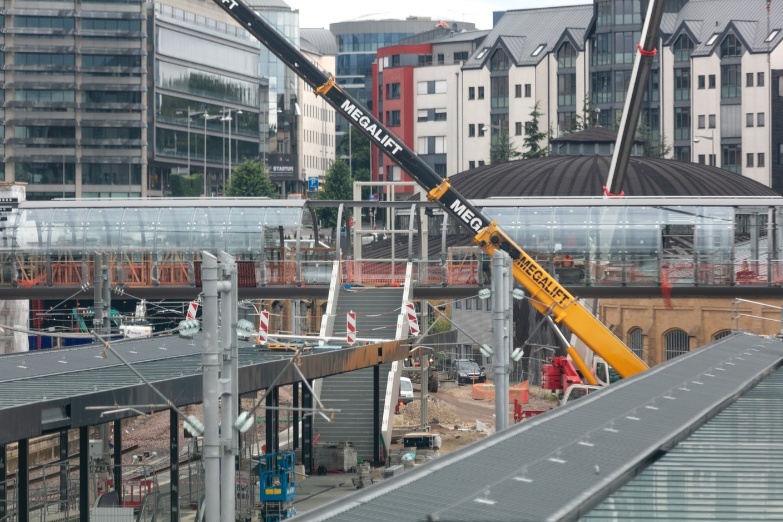 The footbridge is due to open on 13 September. (Photo: Romain Gamba/Maison Moderne)