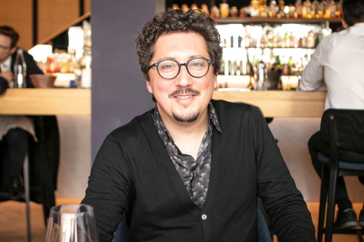 Marco Godinho: «J'essaie au maximum d'intégrer un bon repas dans ma journée ou dans mes déplacements.» (Photo: Patricia Pitsch/Maison Moderne)