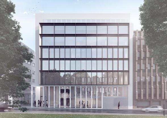 Le bureau A2618 travaille actuellement, entre autres, sur le projet de l'immeuble Prince développé à Luxembourg par Eaglestone. (Illustration: A2618-Eaglestone)