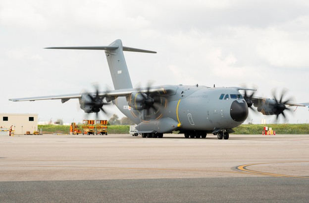 L'avion a quitté Melsbroek pour Islamabad (Pakistan) mercredi. C'est de là qu'il ramènera en Europe des ressortissants et ayants droit afghans. (Photo: Armée luxembourgeoise)