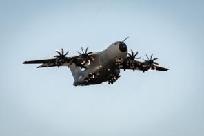 Le «pannenflieger», l'avion à pannes, comme l'ont surnommé les militaires allemands, pourrait finalement n'arriver qu'en septembre. (Photo: Airbus)
