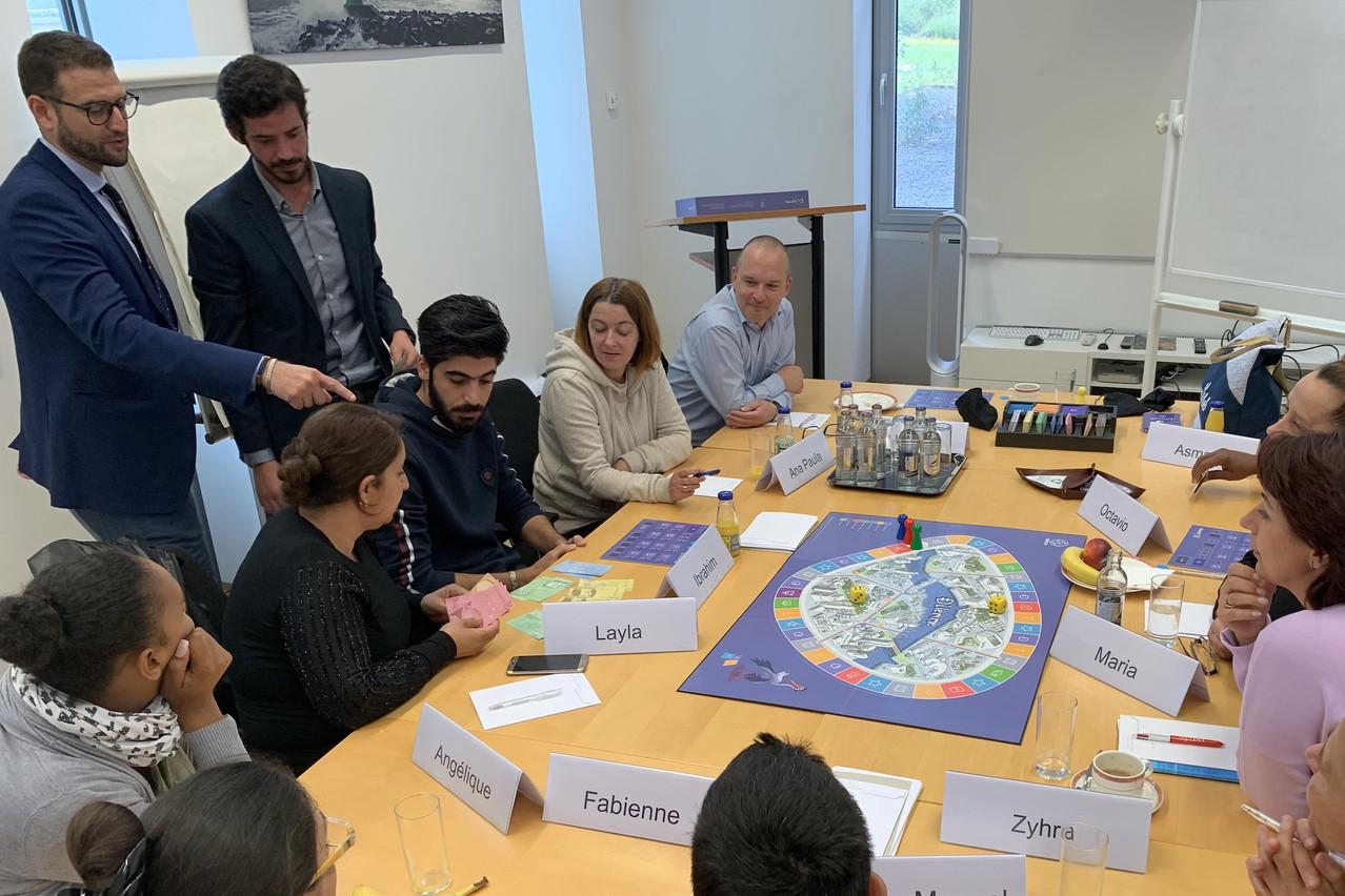 Deux semaines de formation aux rudiments de la finance ont été organisées par l'ABBL. (Photo: Paperjam)