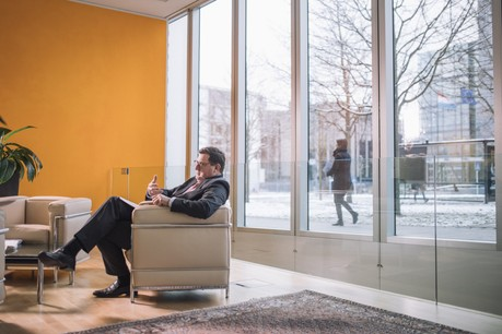Yves Maas, CEO par intérim de l'ABBL, a lancé un projet de transformation de l'organisation. (Photo: Edouard Olszewski / Archives)