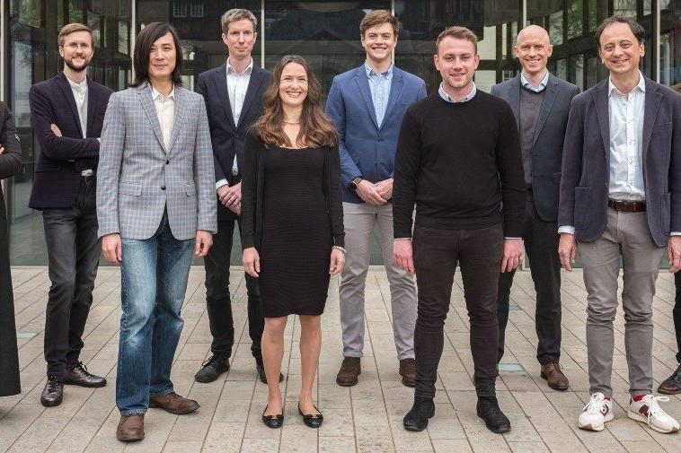 After raising $5 million, Franck Vialaron's (right) fintech will set up shop at Lhoft. (Photo: Accelex)
