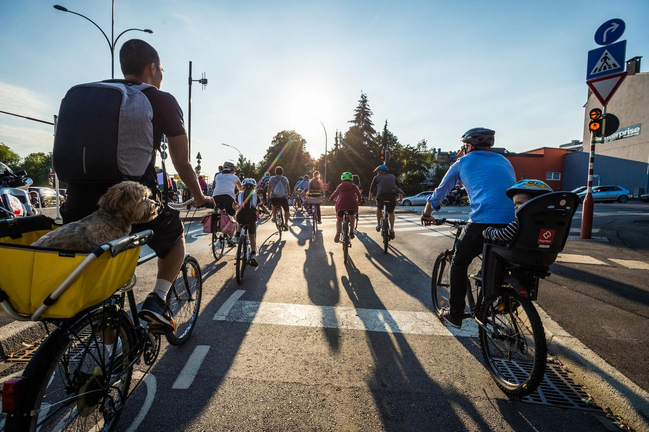 Cette année, la Semaine de la mobilité mettra l'accent sur les micromobilités actives. (Photo: Mike Zenari/Maison Moderne/archives)