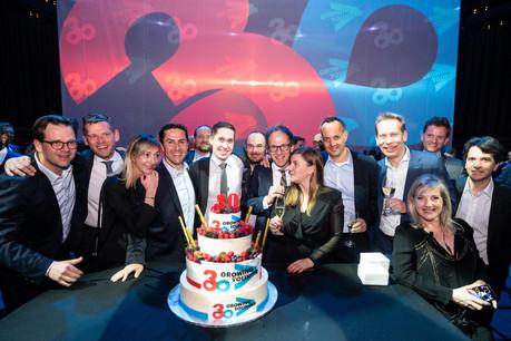 Accenture a fêté ses 30 ans aux Rotondes (Photo: Olivier Anbergen / Melting Prod)
