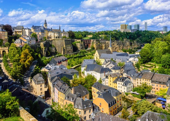 The capital of the grand duchy among nominees thanks to its accessible infrastructures. Photo: Shutterstock