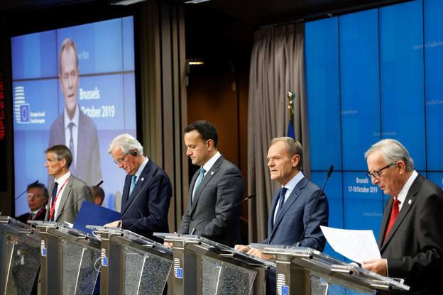 «Le Conseil européen approuve cet accord», a annoncé le président du Conseil européen, Donald Tusk. (Photo: Conseil européen)