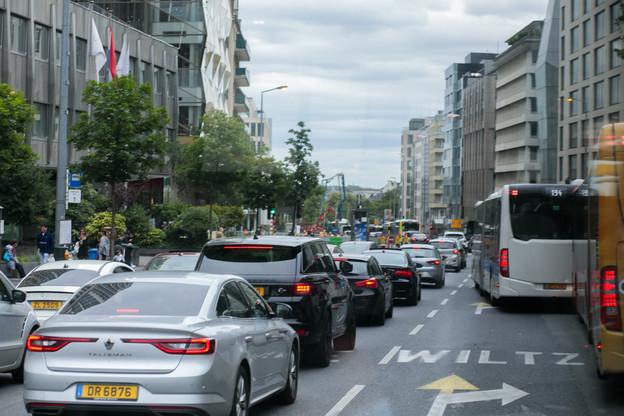 L'objectif du gouvernement est d'arriver à électrifier 49% du parc automobile luxembourgeois d'ici 2030. (Photo: Matic Zorman / Maison Moderne)