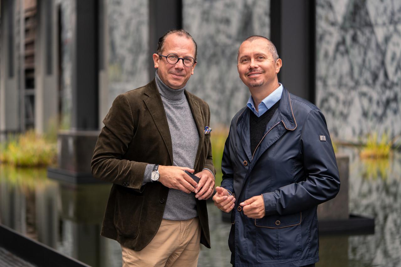 Martin Schnögass etEric Rosin, Partner. (Photo: Act360°)