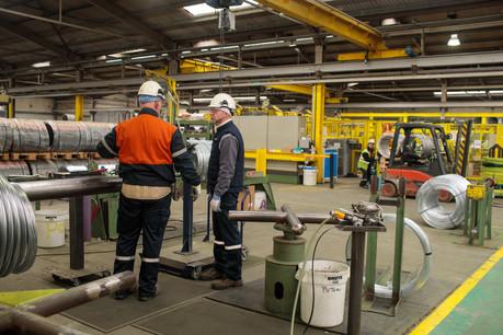 L'activité industrielle repart et la confiance des responsables d'entreprise gagne des points. (Photo: Matic Zorman/archives)