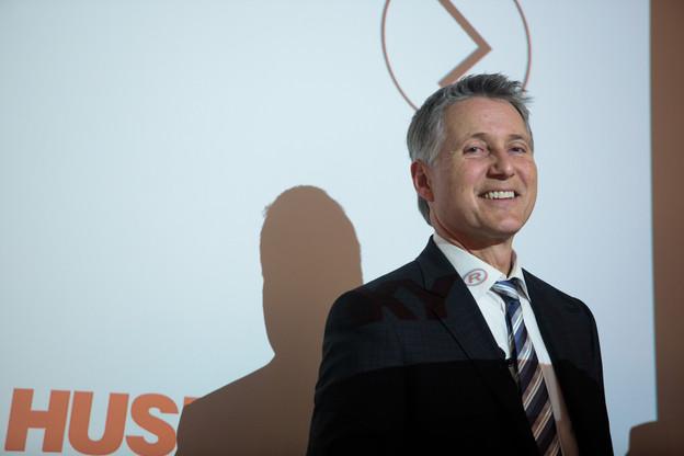 Le CEO d'Husky, JohnGalt, est venu présenter le plan de relance de son site de Dudelange. (Photo: archives Paperjam)