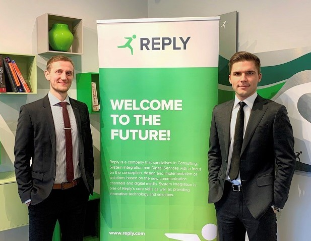 Alexander Becker, Senior Consultant, and Max Malonukhin, Senior Consultant, at Avantage Reply Luxembourg. (Photo: Avantage Reply Luxembourg)