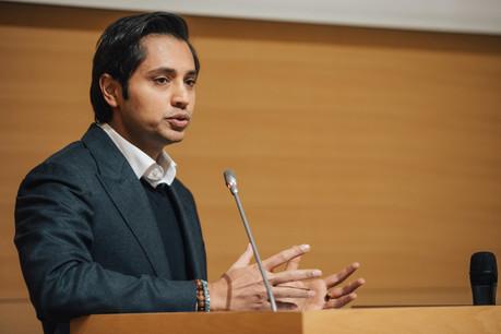 Aditya Mittal, 45 ans, a été nommé directeur général du géant sidérurgique ArcelorMittal, fondé par son père Lakshmi Mittal, le 11 février. (Photo: Edouard Olszewski / archives Maison Moderne)