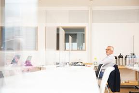 Alain Noullet (Initium Group) (Photo: Simon Verjus/Maison Moderne)