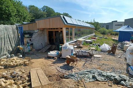 L'Äerdschëff est un projet pilote dont le chantier ne ressemble à aucun autre. (Photo: Äerdschëff)