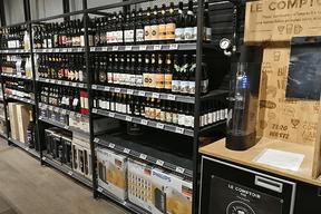 Bière en vrac Jean Bouteille (Auchan)