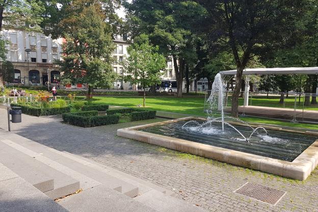 La sécurité aux abords du parc Gerlache sera renforcée grâce à des caméras de surveillance et des agents privés. (Photo: Capture d'écran/Google Maps)