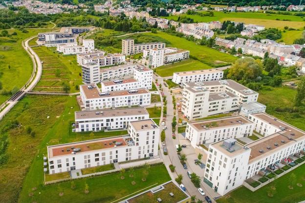 À Belval Nord, l'ensemble des terrains est désormais commercialisé. (Photo: Agora)