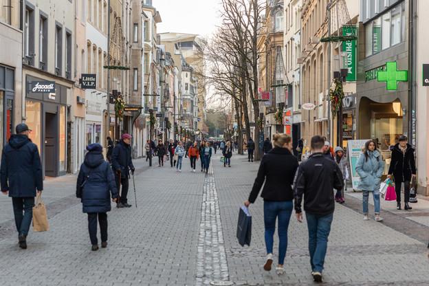 La Ville de Luxembourg aidera ses commerçants locaux via une aide financière directe, dont les modalités sont encore à discuter. (Photo: Romain Gamba /Archives Maison Moderne)