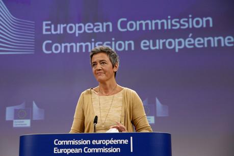 La vice-présidente de la Commission européenne, en charge de la concurrence, Margrethe Vestager, a annoncé que l'Union européenne permettrait aux États membres d'aider leurs entreprises jusqu'à fin juin. (Photo: Union européenne)